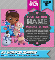 doc mcstuffins party ideas doc mcstuffins birthday invitations 8 best birthday resource gallery