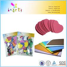 kids foam geometric shapes for craft self adhesive eva foam shapes