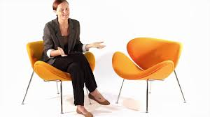 replica pierre paulin orange slice chair from matt blatt youtube