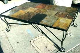 slate outdoor dining table slate top end table expominera2017 com