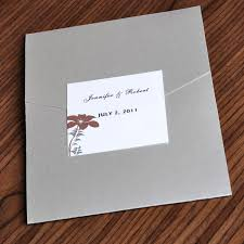 affordable pocket wedding invitations luxury flowers pocket wedding invitation ewpi009 as low as
