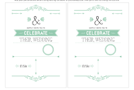 wedding invitation template free download gallery party