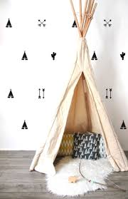 best 25 wall stickers for kids ideas on pinterest army room pOm le bonhomme teepee arrow cactus wall stickers