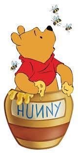 winnie pooh eating honey clip art u2013 clipart free download