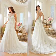 wedding dress 2015 a line cap sleeves open back bridal chiffon wedding dress 2015 new