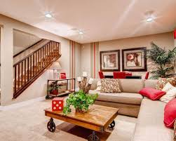 Basement Living Room Ideas Cool Basement Living Room Houzz At Ilashome