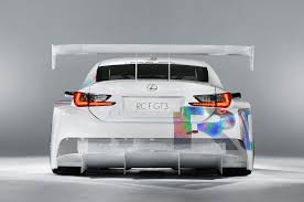lexus rcf logo from concept to production lexus rc f gt3 gear heads