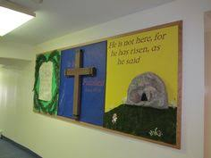 Easter Decorating Ideas For Bulletin Boards by Bulletin Board Decorations For Lent Lent Bulletin Board Can Have