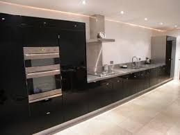 black gloss kitchen ideas black gloss kitchen cupboard doors modern furnitures