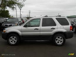 silver metallic 2007 ford escape xlt 4wd exterior photo 55600213