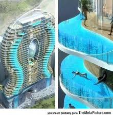 cool building designs zwembalkons in mumbai where each room has its own pool the meta