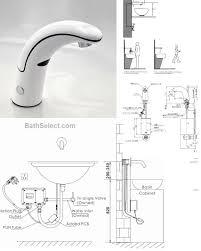 Motion Sensor Bathroom Faucet by Installations Instructions For Motion Sensor Faucets