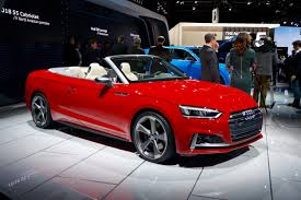 audi detroit 2018 audi a5 and s5 cabriolet launch in detroit carfax