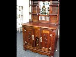 Antique Sideboard For Sale Walnut Victorian Sideboard Style Ice Box For Sale Youtube