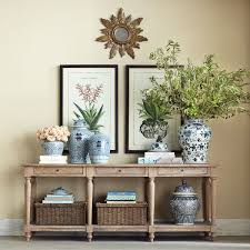 Restoration Hardware Console Table by Wooden European Console Wisteria