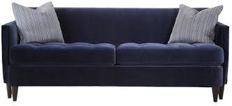 navy blue velvet sofa blue velvet tufted bottom sofa