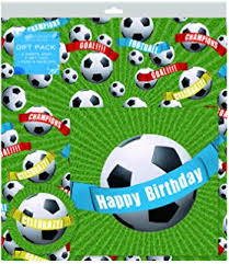 sports wrapping paper football wrapping paper present gift wrap rolls 5m roll
