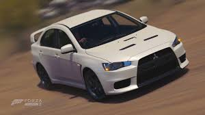 mitsubishi evolution 10 forza horizon 3 cars