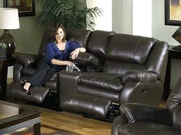 top grain leather reclining sofa cortez premium top grain gray