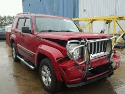red jeep liberty 2010 2010 jeep liberty sp photos salvage car auction copart usa