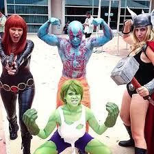 Guardians Galaxy Halloween Costumes Diy Guardians Galaxy Drax Costume Maskerix
