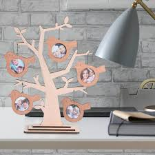home decor gifts for mom giftgarden family tree decoration wood multi 2x2 round picture
