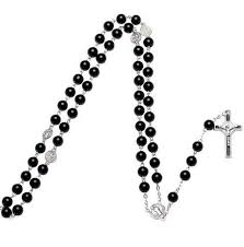 catholic rosary necklace wholesale cross pendant necklace rosary chain silver