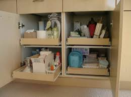 Bathroom Storage And Organization Pull Out Shelving For Bathroom Cabinets Storage Solution