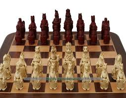 berkeley chess royal beasts ornamental chess set