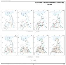 Décrets De 1950 Retour Vers Le Passé Atlas De La Province Extrême Nord Cameroun évolution De L