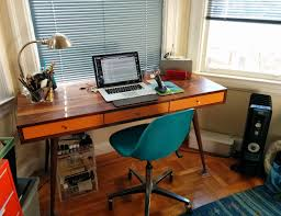mid century desk by jeremiah collection gadget flow