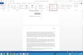 Footer Design Ideas How To Add Page Numbers And A Table Of Contents To Word Documents