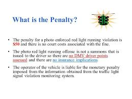 how much does a red light ticket cost in california photosafe newport news ppt download