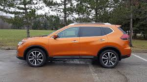 orange nissan rogue 2017 nissan rogue sl platinum test drive review