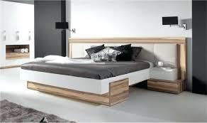 chambre 160x200 lit 160 200 design bois adulte 2 places avec tte de large capitonne
