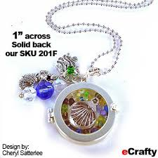 make glass necklace pendants images Diy shadowbox pendants sea glass imagery from diy jpg
