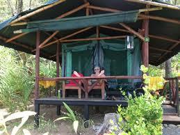 ocean front platform tent picture of la leona eco lodge carate