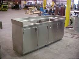 stainless steel kitchen sink cabinet stainless steel kitchen sink cabinet sink cabinet with doors 1
