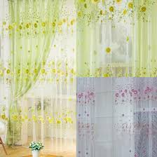 Sunflower Curtains Kitchen by Compare Prices On Sunflower Curtains Kitchen Online Shopping Buy