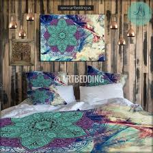 bedding wonderful nice boho chic bedding for your bed dtmba