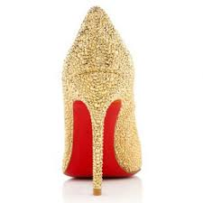 2016 fashion christian louboutin pumps fifi strass 100mm red bot
