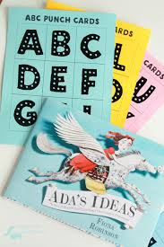 preschool stem activities with ada s ideas free printable abc punch cards perfect for working on your preschooler s alphabet recognition letter