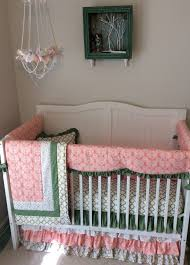 Pink And Gold Baby Bedding Nursery Beddings Pink And Gold Crib Bedding As Well As Blush