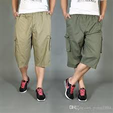 summer style capri 2018 summer style herren cargo shorts men s quality capri pants plus