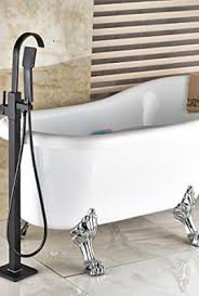 Bathtub Handheld Shower Votamuta New Floor Mount Single Handle Bathtub Mixer Faucet Free
