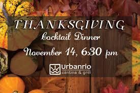 thanksgiving cocktail dinner at plano magazine