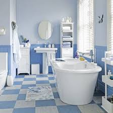 blue bathroom tile ideas coastal style blue and white floor tiles bathroom tile ideas