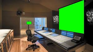 music studio music studio in green screen free stock footage youtube
