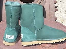 womens work boots australia womens ugg australia pineneedle green sheepskin