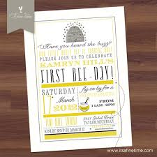 thanksgiving wedding invitations birthday party invitation happy bee day honey bee bumble bee